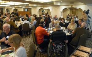 Attendees at AofY dinner May 2017-003