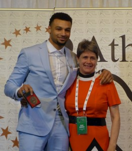 Jamal Murray and Jean Howitt